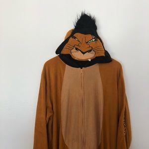 Disney Intimates & Sleepwear - Disney Lion King Onesie Scar SzL/XL